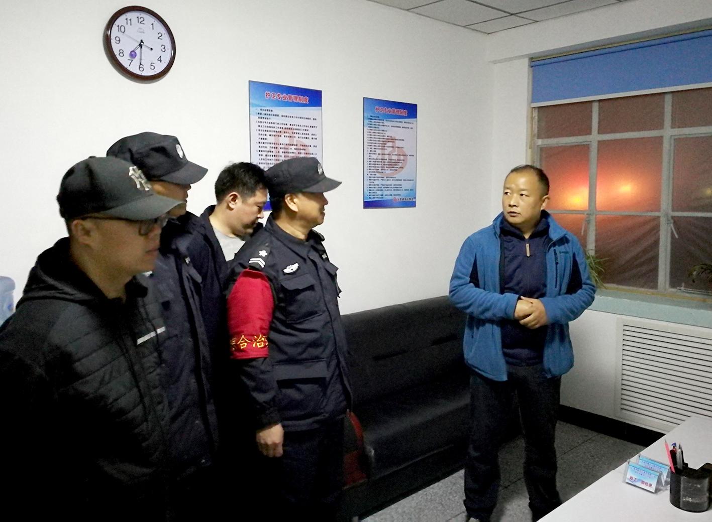 河东区综合执法局局长胡军到诚瑞达银盾公司项目指导调研